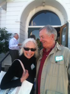 Judith Shaw and (former ConFab instructor) lawyer Tom Silk