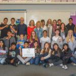 West Marin 8th grade philanthropists